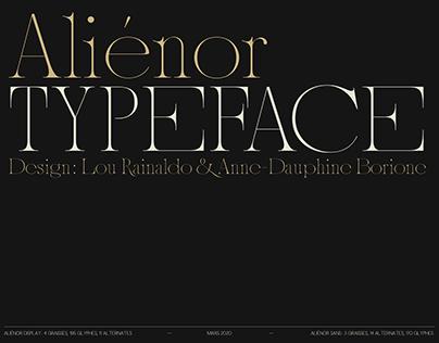 Aliénor Typeface