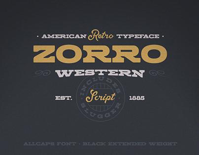 Zorro Font Duo