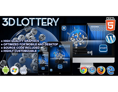 HTML5 Game: 3D Lottery