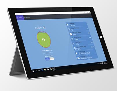 Save Battery-Windows 10 Application