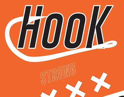 HOOK Spicy Hot Sauce Brand&Packaging