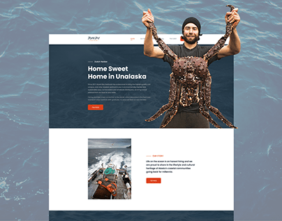 Raven Bay- Seafood Supplier Website Design