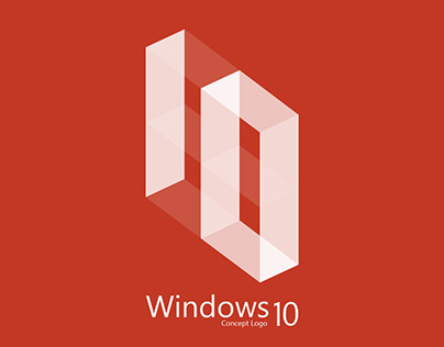 Windows 10 logo design (consept)