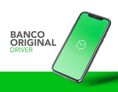 Banco Original Driver - UX/UI