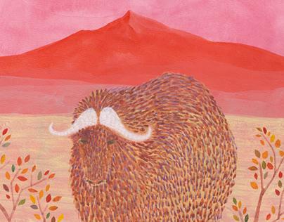 ILLUSTRATION -Portrait of wild animal-