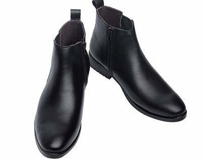 Giày chelsea boots nam GC06 2019