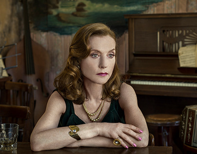 ISABEL HUPPERT BY MARCOS LOPEZ