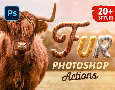 FUR GENERATOR – PHOTOSHOP ACTIONS