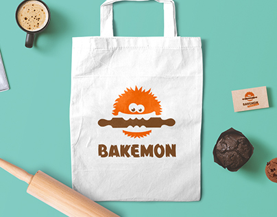 Bakemon Logo Design