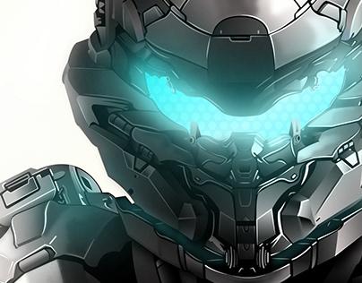 Spartan Digital Illustration (Illustrator & Photoshop)