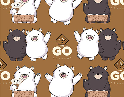 The Go Academy Brochure Design 围棋教育学院