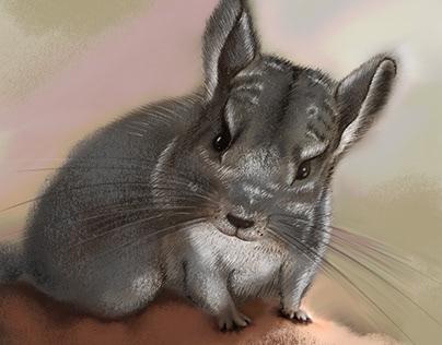 Fresco Pet Portrait