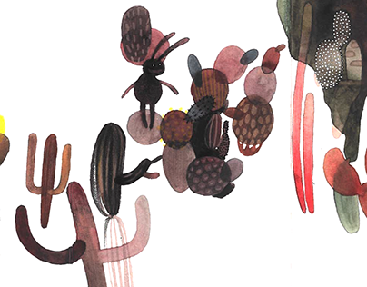 THE CACTI FIELD. Book , 2016