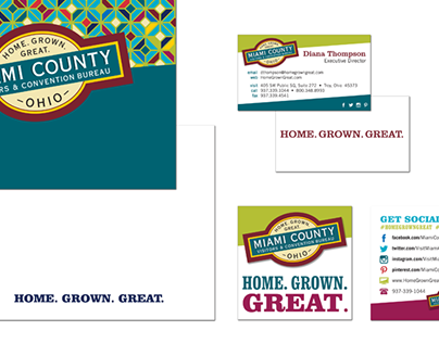Miami County Visitors Bureau Branding