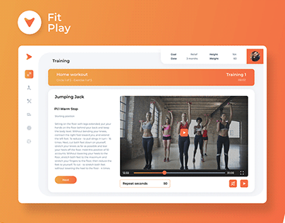 Fit Play - Training and Nutrition Platform