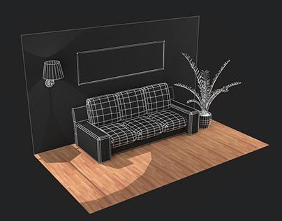 WebGl-Designer furniture