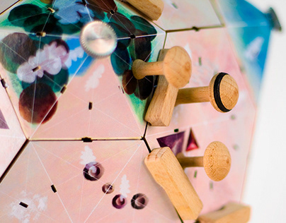 Der Planet Moira – boardgame with game theory mechanics