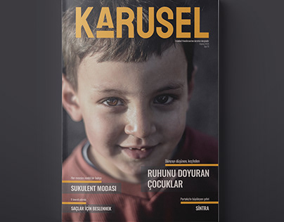 Karusel, Editorial Design