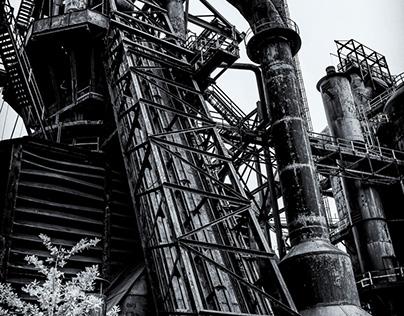 Bethlehem Steel Black & White