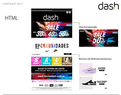 Sale, Dash deportes