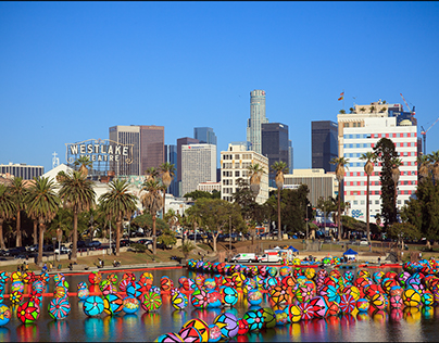 Portraits of Hope. The Spheres at MacArthur Park