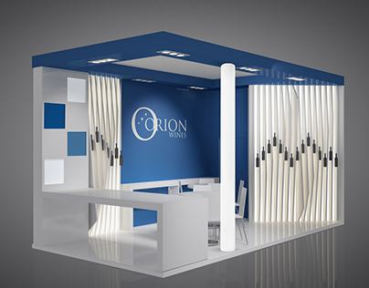 Orion Wines_Allestimento fieristico