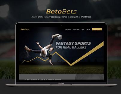 Betobets | Web & Dashboard Design