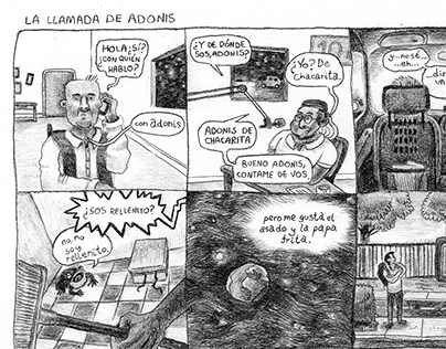 La llamada de Adonis / Late Night Call