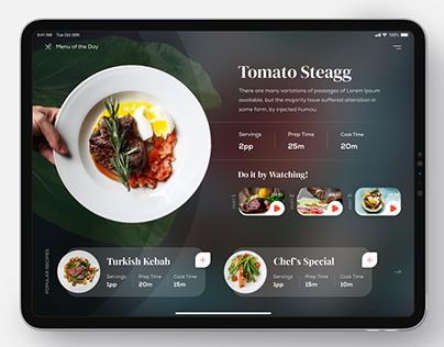 Recipe App / Yemek Tarifi Uygulaması