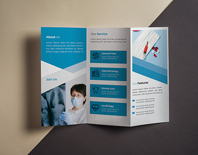 Tie fold Brochure