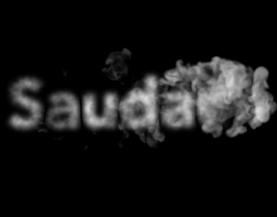 Saudade—Expressive Typography