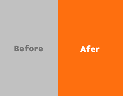 Before - After Branding Project