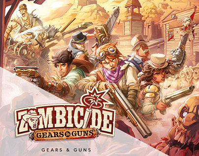 Zombicide: Gears&Guns_COLORIST PORTFOLIO