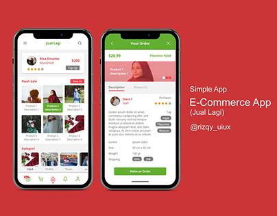 E-Commerce App(Jual Lagi)
