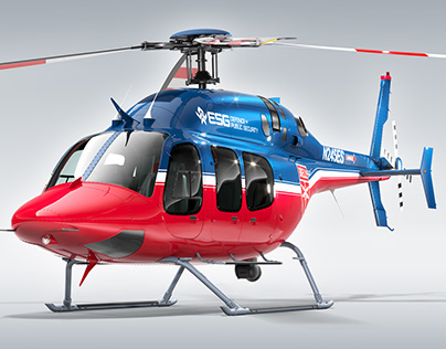 Bell Helicopter - CGi Visuals
