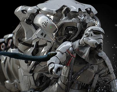 Underwater Exoskeleton