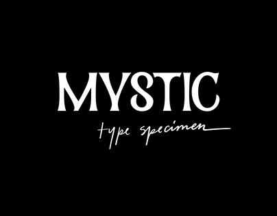 Mystic - A Display Typeface