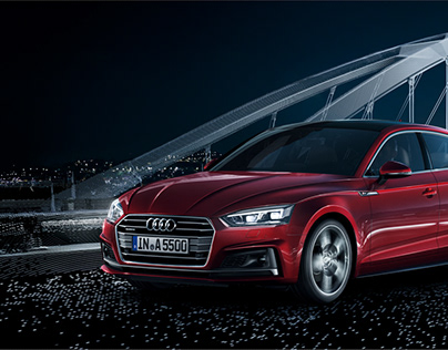 Audi A5 & S5 Sportback with Markus Wendler
