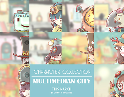 Multimedian City by Chanut-is