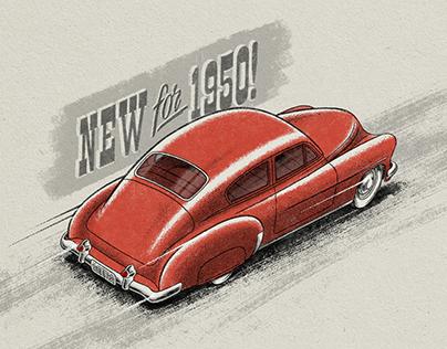1950 Chevy Fleetline Custom