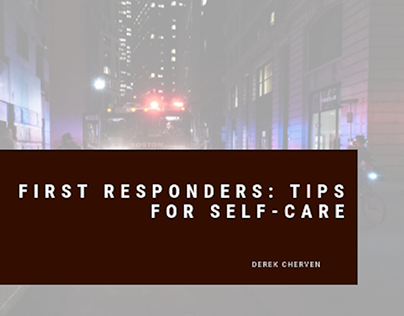 First Responders: Tips for Self Care