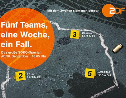 "ZDF – Kampagne ""SOKO Special"""