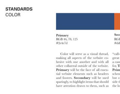 Digital branding guidelines
