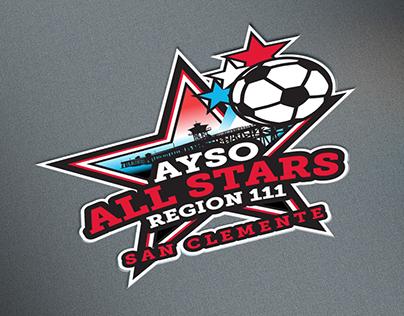 AYSO All Stars Logo Design