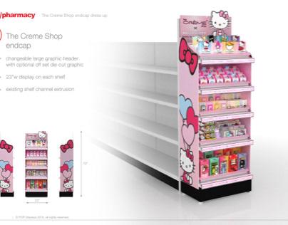 CVS ® The Crème Shop ® Endcap Display