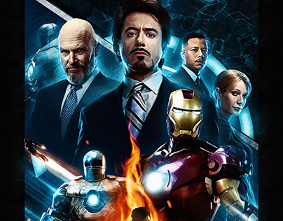 Iron Man Fanart Poster