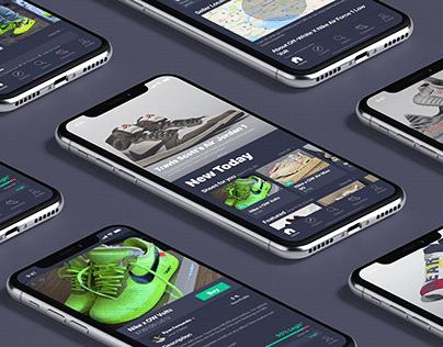 Sneaker Legit Check App Concept