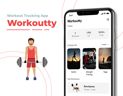 Workout Tracking App - Workoutty