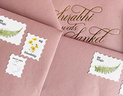 S&S Wedding Card