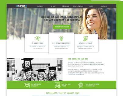 Website Redesign/ IT School-Careeit